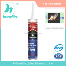 S7008 Fire Resistant Barrier Silicone Sealant High Temperature Resistant