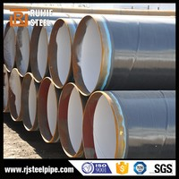OD 25mm to 356mm Hot Rolled And Cold Drawn ASTM A106/A53 Gr.B Low Carbon Steel Polyethylene Pipe
