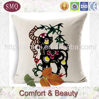 traditional China style pillow walmart as seen on tv products garden cushions blue cushion linen cushion