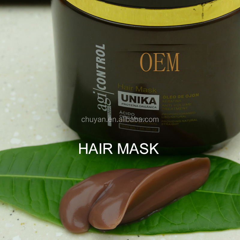 OEM Professional salon Natural Hair Repairing Cream keretin hair care mask treatment