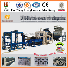 high demands products QTJ4-18 automatic brick making machine for bangladesh