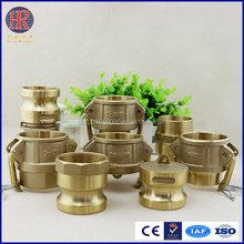 Brass camlock couplings with favorable price and high quality quick coupler
