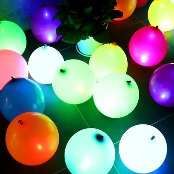 Boomwow Wholesale fliegender blinkender heller Ballon LED
