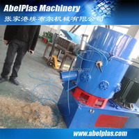 High Output agglomerator densifier machine/film agglomerators/plastic bag agglomerator