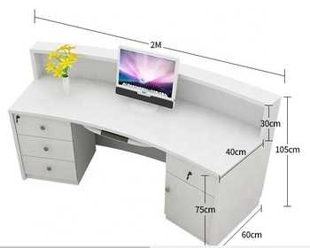 high quality education school reception desk information registration desk