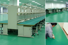 hospital Static Dissipative ESD vinyl roll flooring