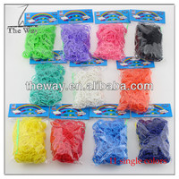 600pcs refills Colorful Loom bands 24pcs clasp /1 hook included Cheapest price