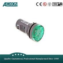 Green LED Buzzer Warning Strobe Light