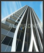GUANGZHOU ALUFRONT ALUMINIUM CURTAIN WALL FACADE WITH TOP QUALITY