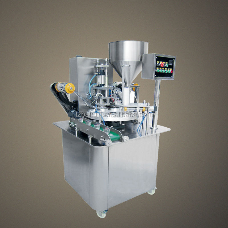 Rotary type cup packaging equipment