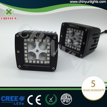 Newest and Hot sales 12w halo headlights cree led lighting with RGB Color Changing Halo