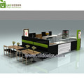 3d design donut food kiosk indoor fast food kiosk customize