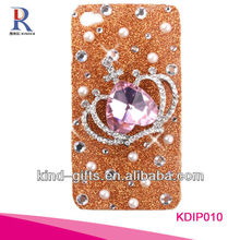 Bling Rhinestone Design Custom Phone Cases For Iphone5C 5S China Supplier