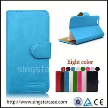 New Product Flip Cover Leather Case for htc legend g6