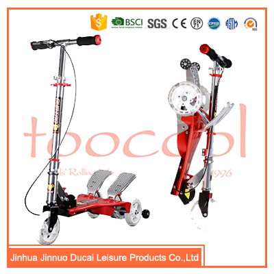 Cheap step pedal kick scooter for adult WG01