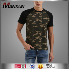 Latest Design Summer Men's Camo Printed Fashion Design T-Shirt Sport Baggy Camouflage Sweatshirt T Shirt