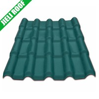 Hot Sale Green Roof Spanish Style Plastic Tile