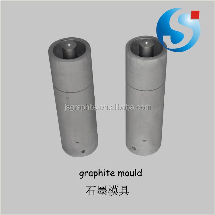 High purity graphite gold and silver casting mould
