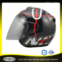 Popular design ABS custom motorcycle full face helmet decals manufacturer price