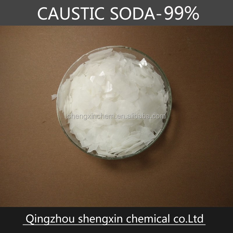 uses caustic soda flakes 99%