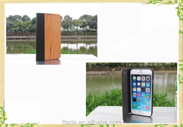 2016 promotional wooden case for iphone se, for iphone se case