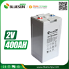 Bluesun 2v gel battery 400ah and 600ah for solar system power storage