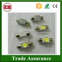 High Quality 12V 1W 1SMD Festoon Dome Light 1 Led Light,Turn Lamps, led tail light bulb 12v car dome festoon light bulb