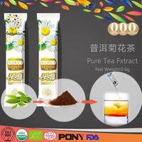 Authentea Patent Technology Pure Organic easy slim tea sides effects With Customized Package.