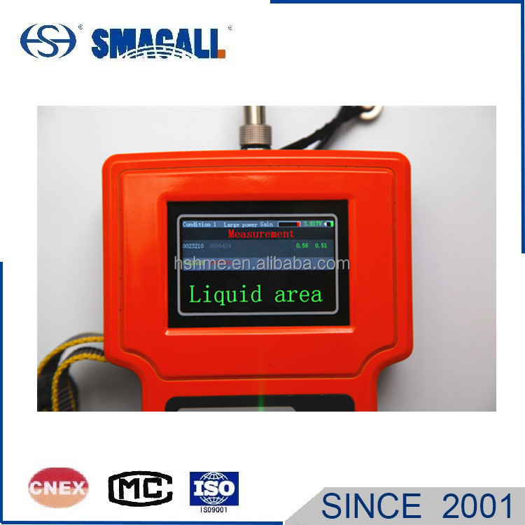 Handheld Ultrasonic Level Indicator for Vinyl Chloride Solution