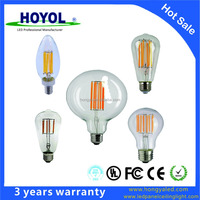 China led manufacturer led filament bulb E27/ E14 led filament light
