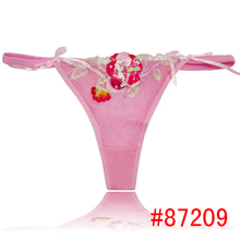 Sexy beautiful thongs for girls women sexy underwear transparent thongs g-string 87209