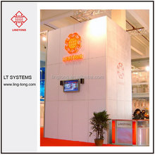 reusable modular trade show wall for booth / stand and stall