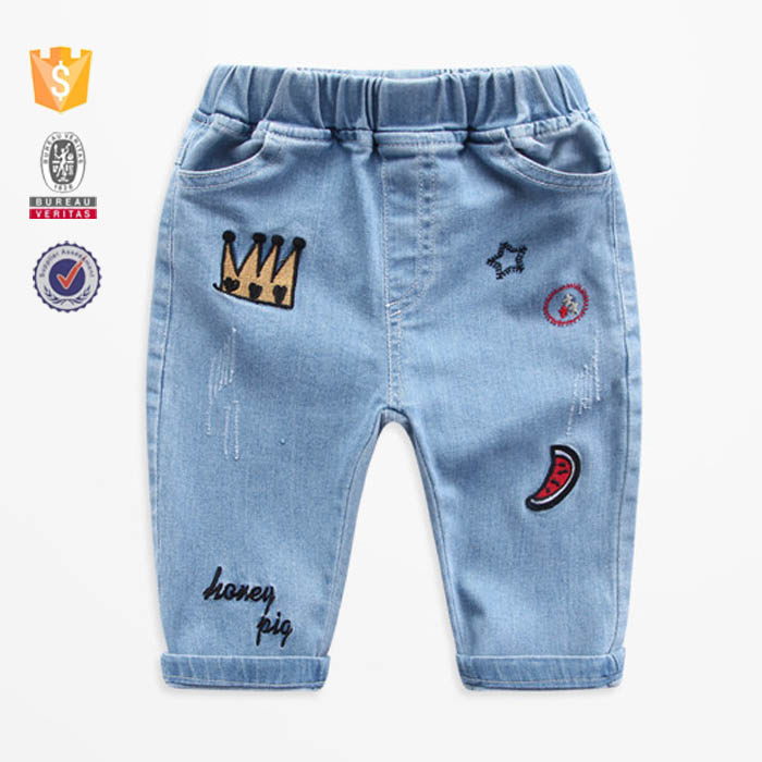 Hot sale new style to child jeans
