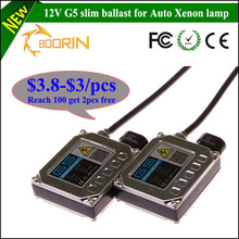 Promotional price CE/ROHS/FCC 12V slim G5 ballast xenon hid kit 35w 55w 75w 100w h1 h3 h4 h7 h11 canbu kit conversion kit