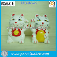 antique ceramic cats