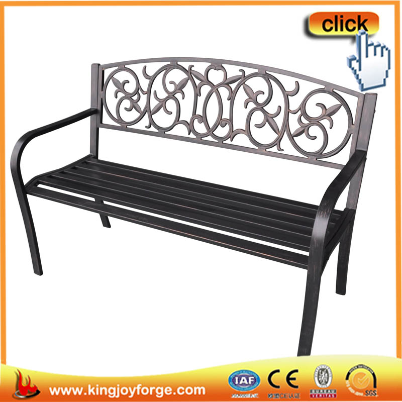 128cm w high quality cheap garden bench iron street bench buy cast iron garden bench iron Cheap outdoor bench