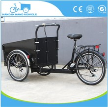 3 wheel new build Pedal tricycle manpower bakfiets cargo bike