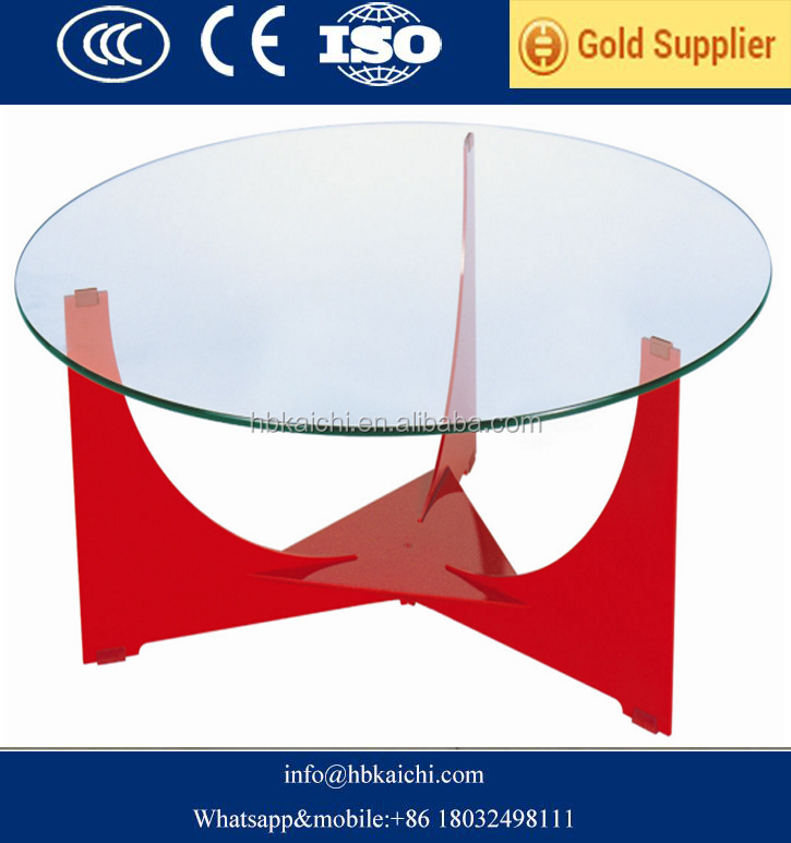 Hotsell tempered glass table top from china factory