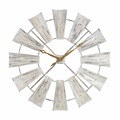 High grade cheap good quality custom metal sun shaped wall clock