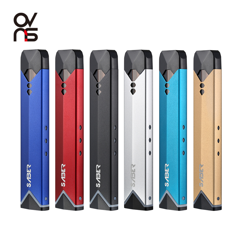 Original Factory Pod Vape System OVNS Vape X for Nicotine Salt Liquid Box Mod Vape