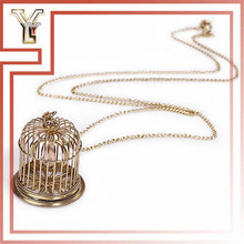 Cebu Jewelry Buyers Aluminum Wire Gold Birdcage Necklace