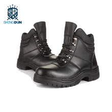 High quality oil leather safety shoes work construction safety shoes in Shandong