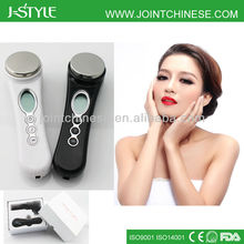 Homeuse multifunctional 3 level intensity electric handheld ultrasonic beauty collagen product