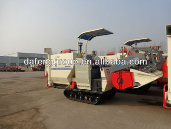 4LZ-2.0D rice and wheat combine harvester