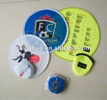 promotional custom full color printing frisbee