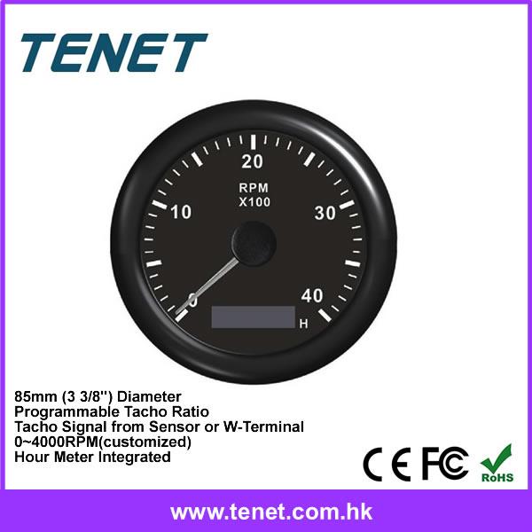 Programmable Hour Meter : Diesel engine tachometer marine rpm meter buy