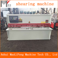 QC12Y/K hydraulic plate shear machine , hydraulic cutter for metal sheet ,