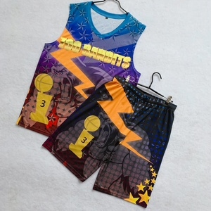 7632f52f378 Wholesale high quality 100% polyester quick dry mesh sublimation printing  basketball jersey