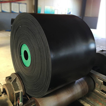 High Strength & Lower price EP50 EP100 EP150 EP200 customzable bottom rubber industrial conveyor belt