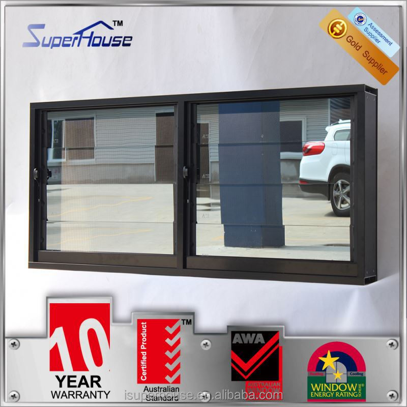 Superhouse latest adjustable blinds arch top window with TOP hardware
